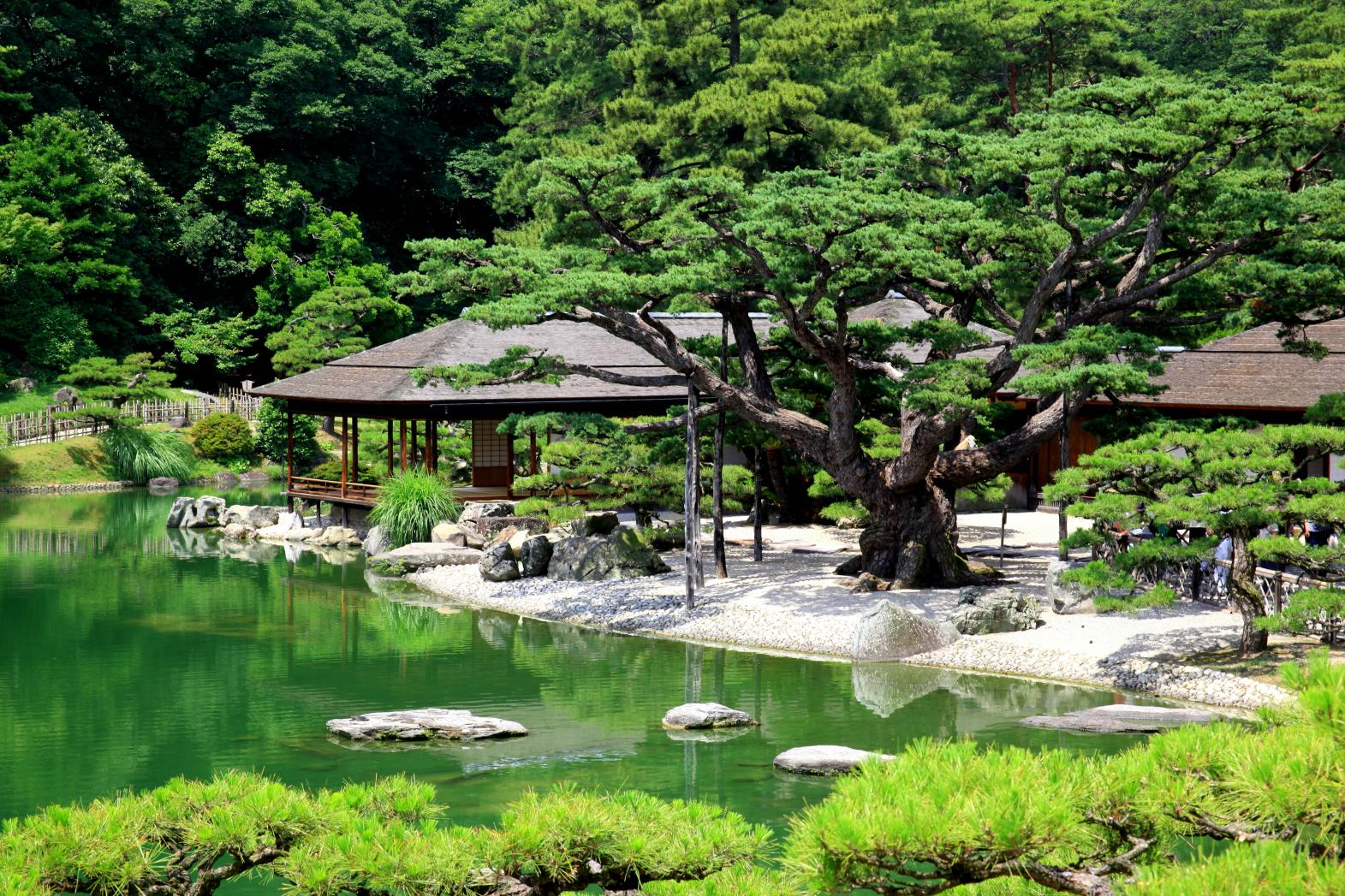 Ritsurin Garden (Official Web Site)