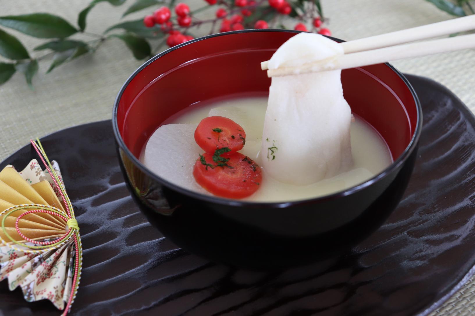 紅豆年糕湯-2