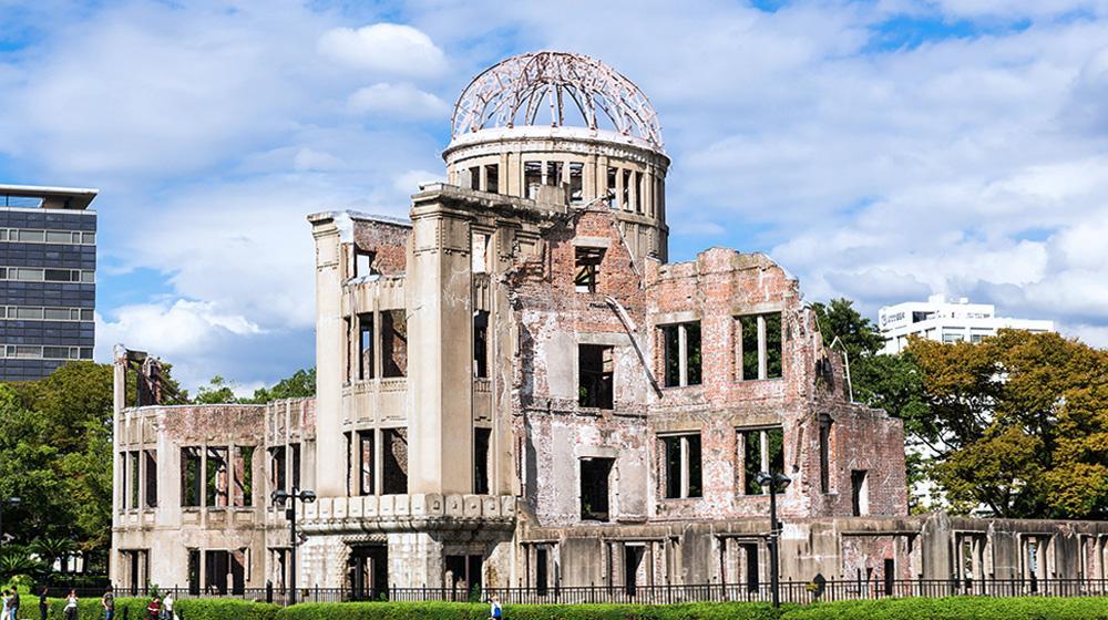 景點1.原爆圓頂、廣島和平紀念資料館
