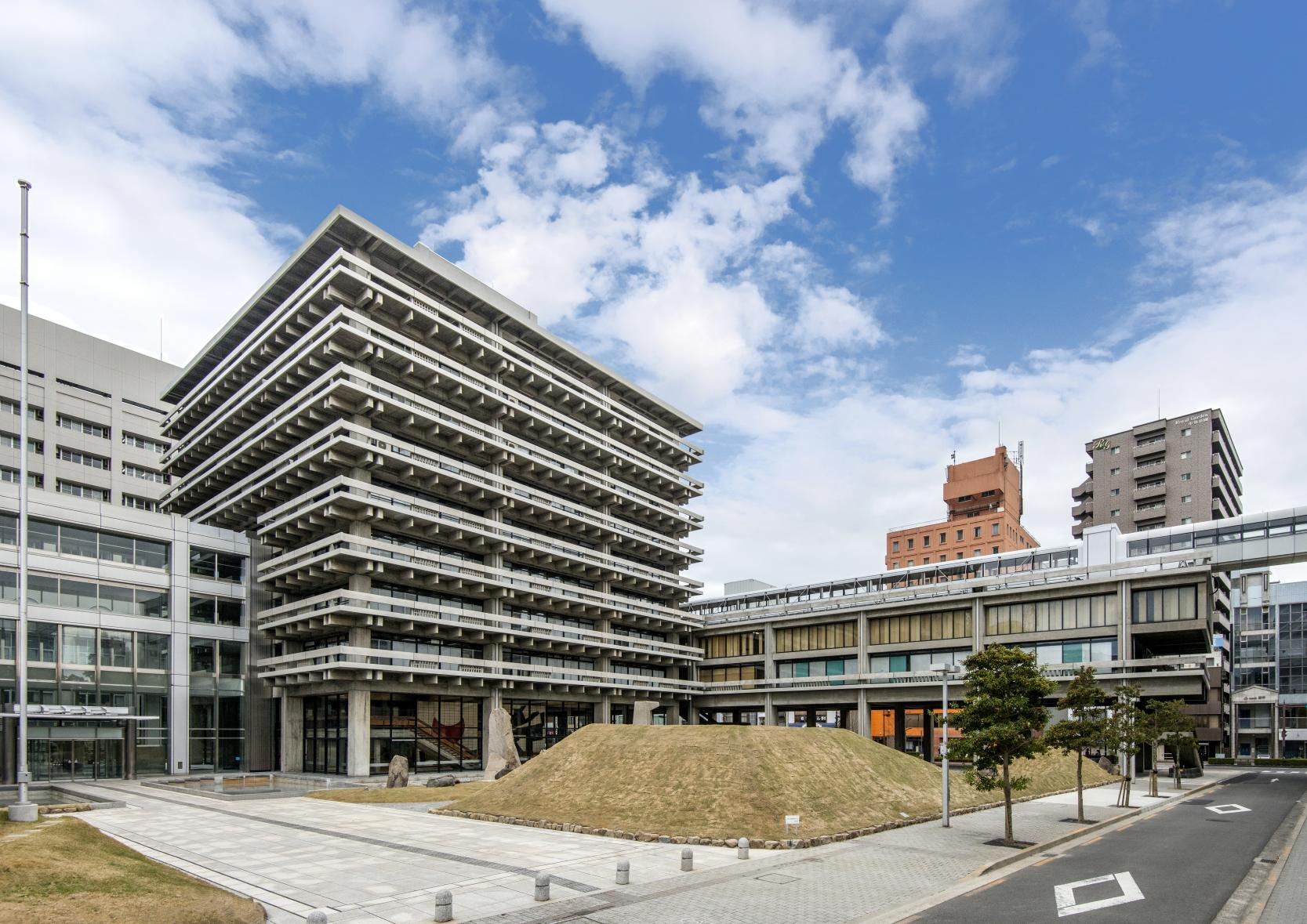 Kagawa Prefectural Government Office East Building-1
