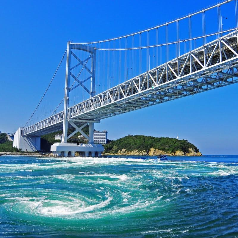 Departure from Takamatsu! Naruto whirlpools view Tour-1