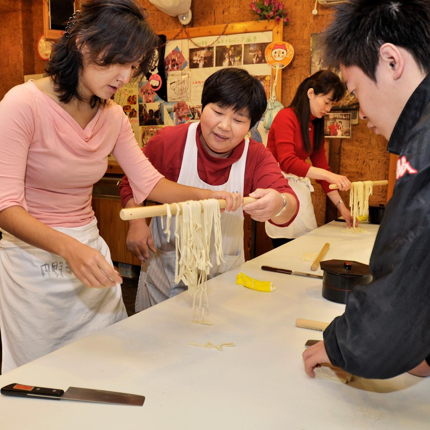 Udon Cooking Class in Nakano Udon School with Bus Ticket-1